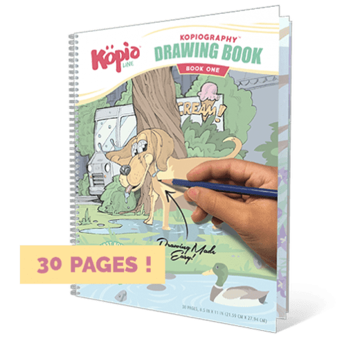 Kopiography Drawing Book Kopiographic How to Draw Practice Drawing