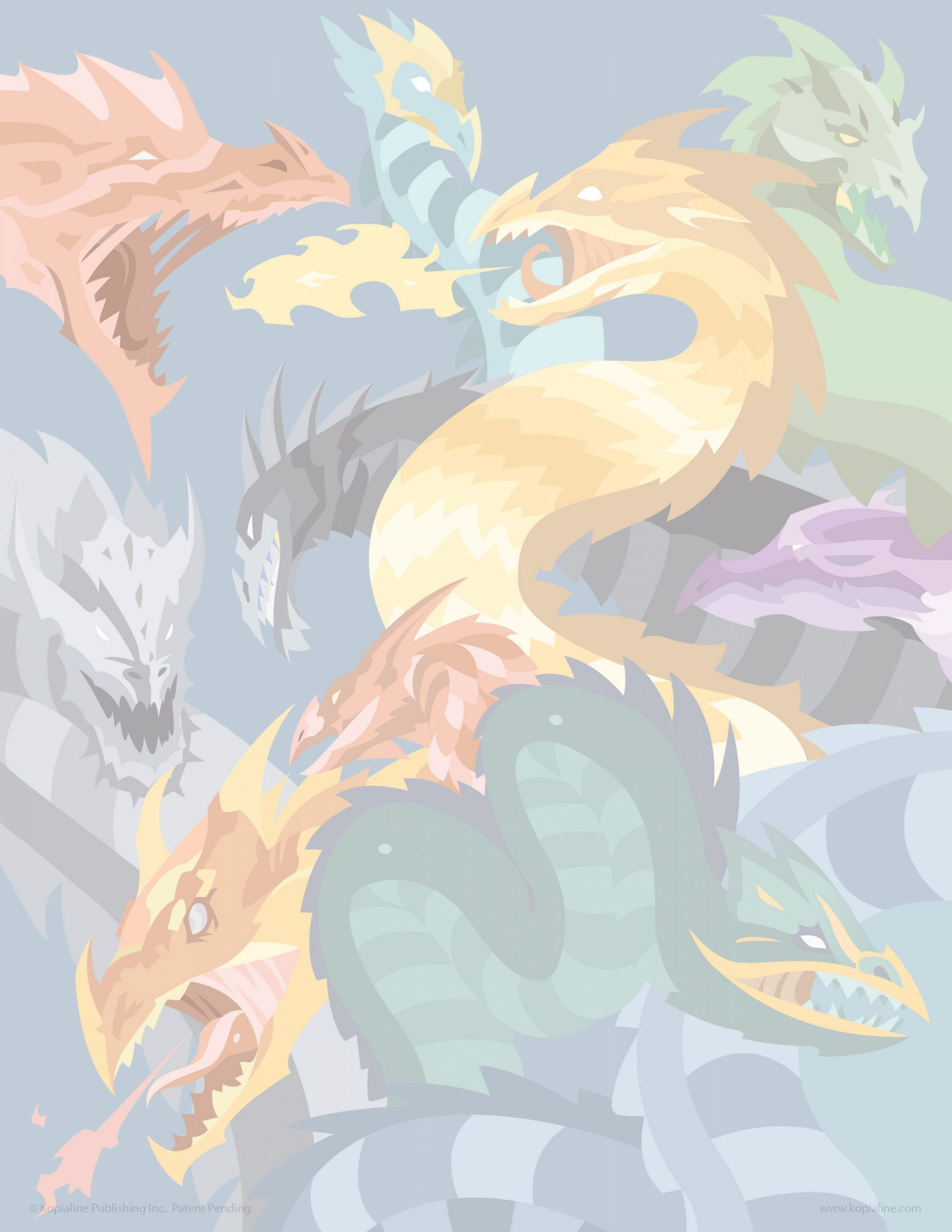 How to Draw Dragons Practice Drawing Dragon Kopiography