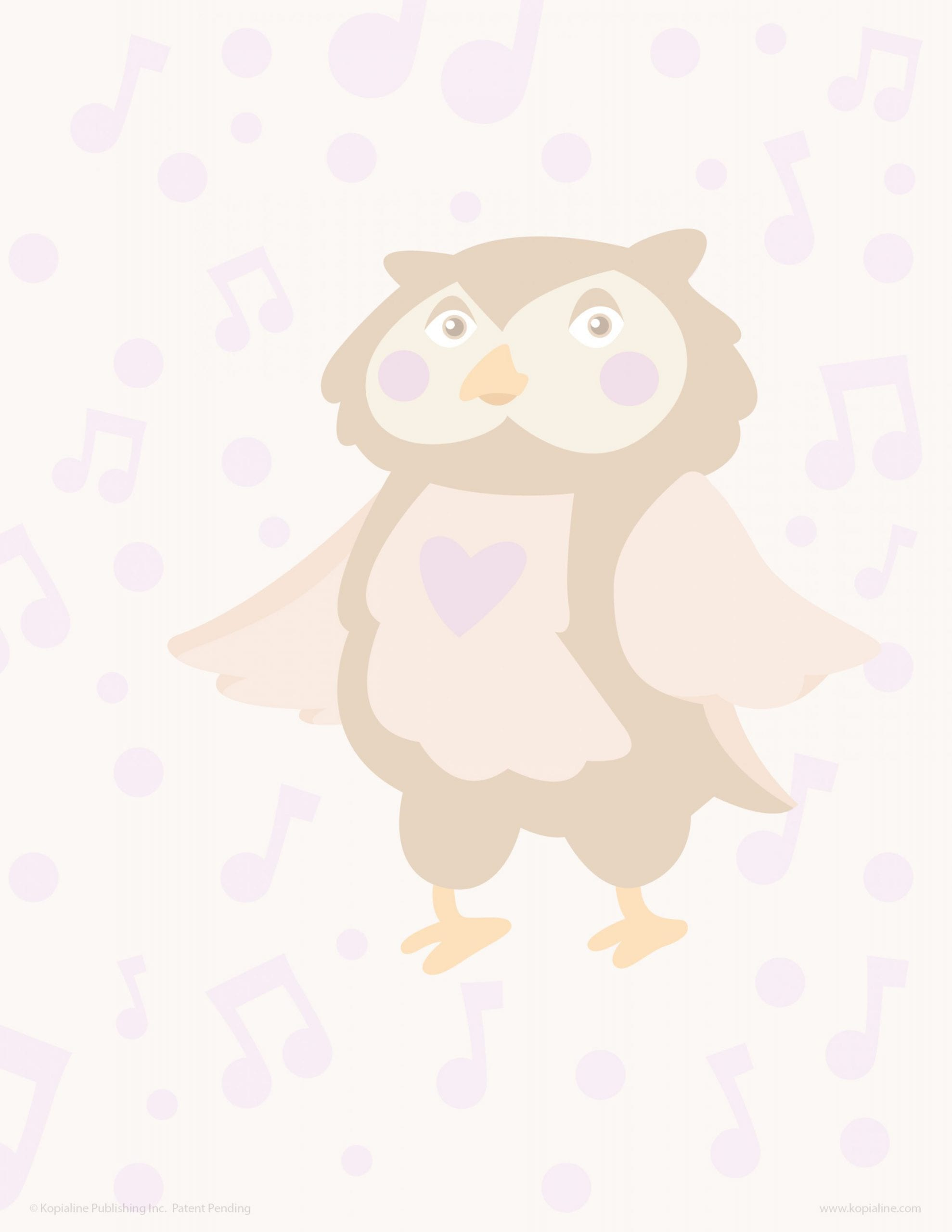 Practice Drawing Learn to Draw The Love Owl Kopiography
