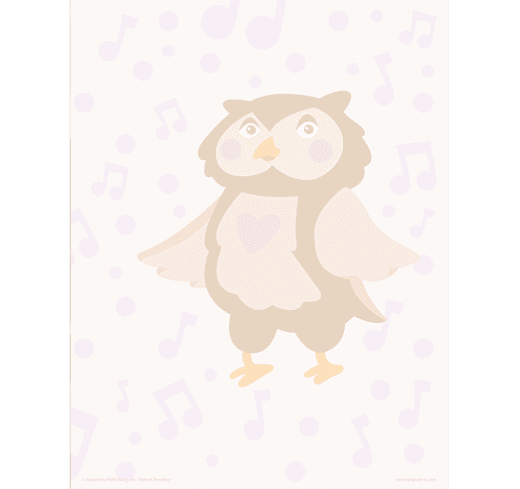 Draw The Love Owl Practice Drawing Kopiography